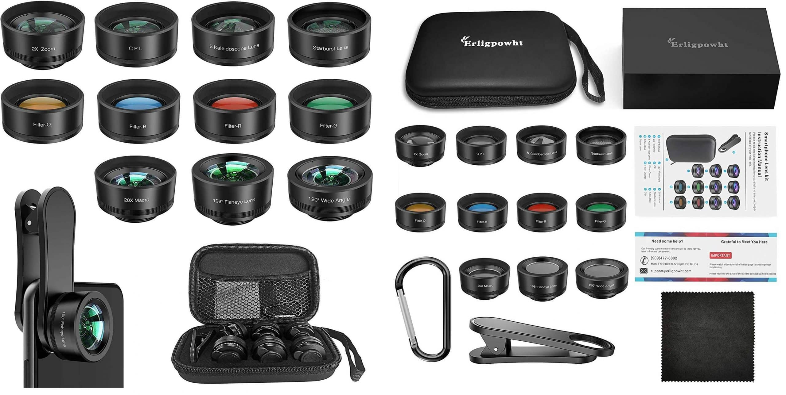 Best Camera Lens for Android: MACTREM 9-piece Lens Kit Sample Photos=