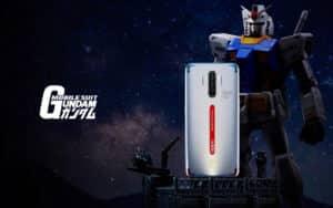 Oppo released Gundam Edition for Reno Ace