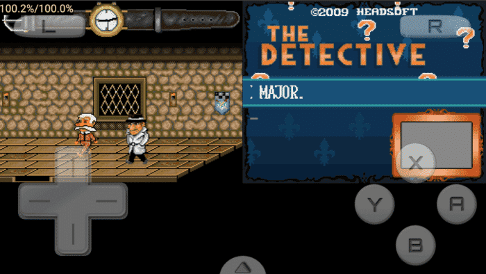 DraStic DS emulator for Android - Playing The Detective