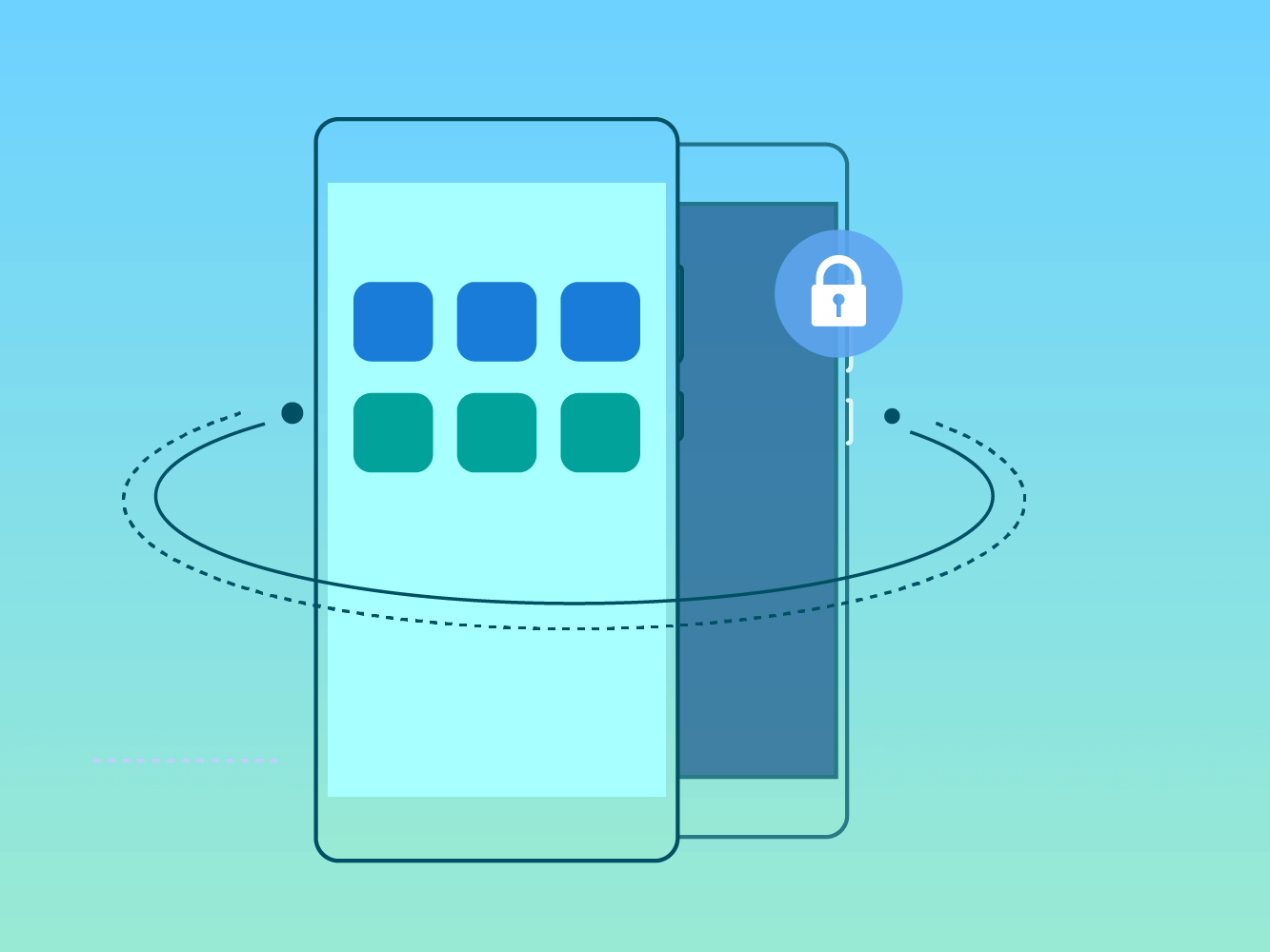 how-to-lock-app-huawei-privatespace