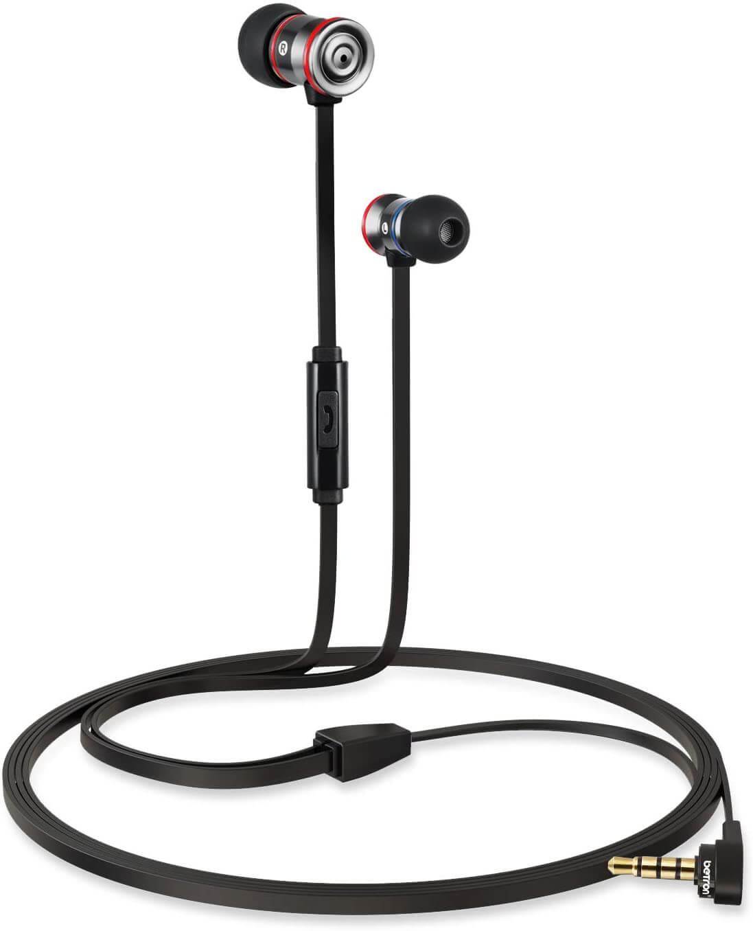 Best Android Headphones, Earphones, and Earbuds - Betron MK23 Earphones