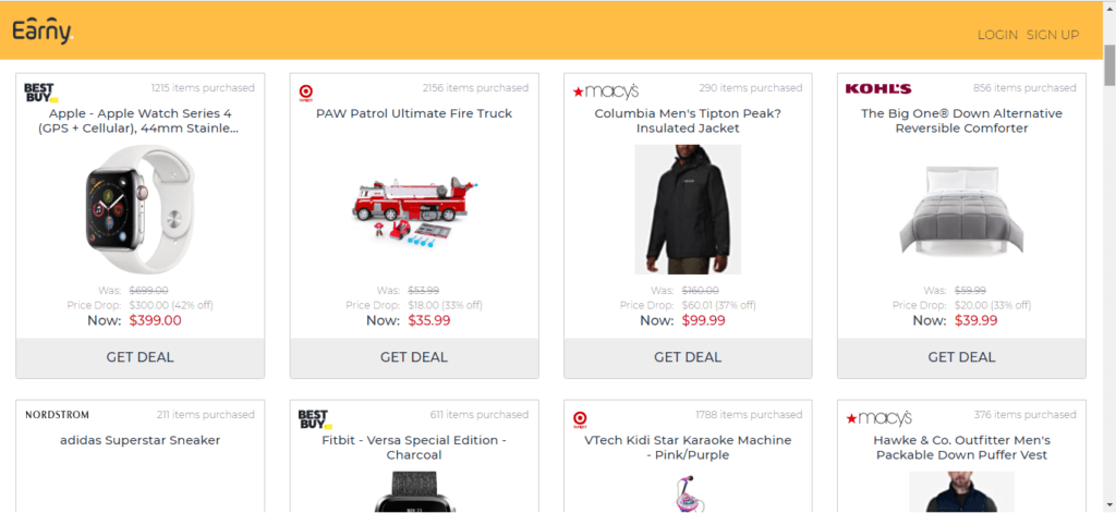 Items You Can Get Discounts From At Earny