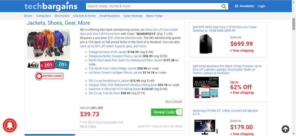 Discounted Items at TechBargains