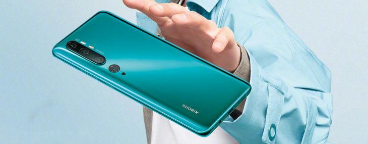 Xiaomi announces 108-megapixel Mi Note 10