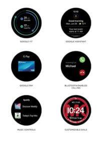 Android Watch Amazon - Display on Michael Kors Access Lexington 2