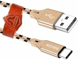 Best Samsung Galaxy S9 Charging Cables - Agvee 3A Fast Charger Cable