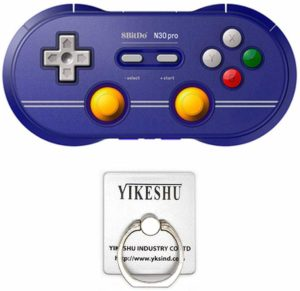 Best USB-C Game Controllers for Android- 8Bitdo N30 Pro 2 USB-C Controler with Joystick
