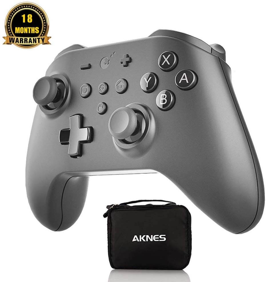 Best USB-C Game Controllers for Android - AKNES Kingkong Pro NS09 Gamepad with Joystick