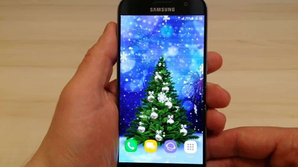 Christmas Wallpaper for Android- Have Holiday Vibes on Phone or Tablet