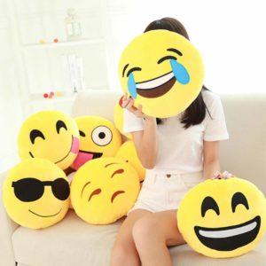 Large Emoji Plush Pillows