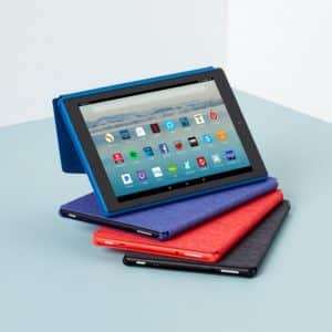 Various Colors of the Fire HD 10 Tablet