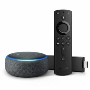 Fire TV Stick 4K with Echo Dot