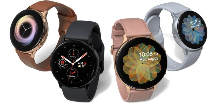 samsung galaxy watch active2 lineup