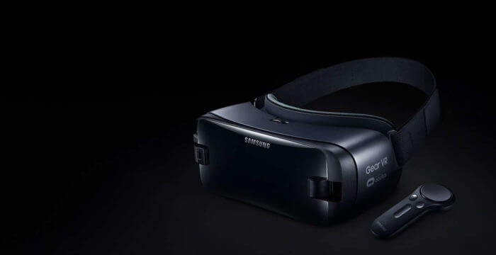 Samsung Gear VR Headset with the Gear VR Controller