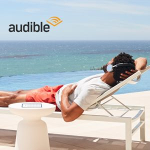Kindle Oasis E-Reader reading a Book with Audible