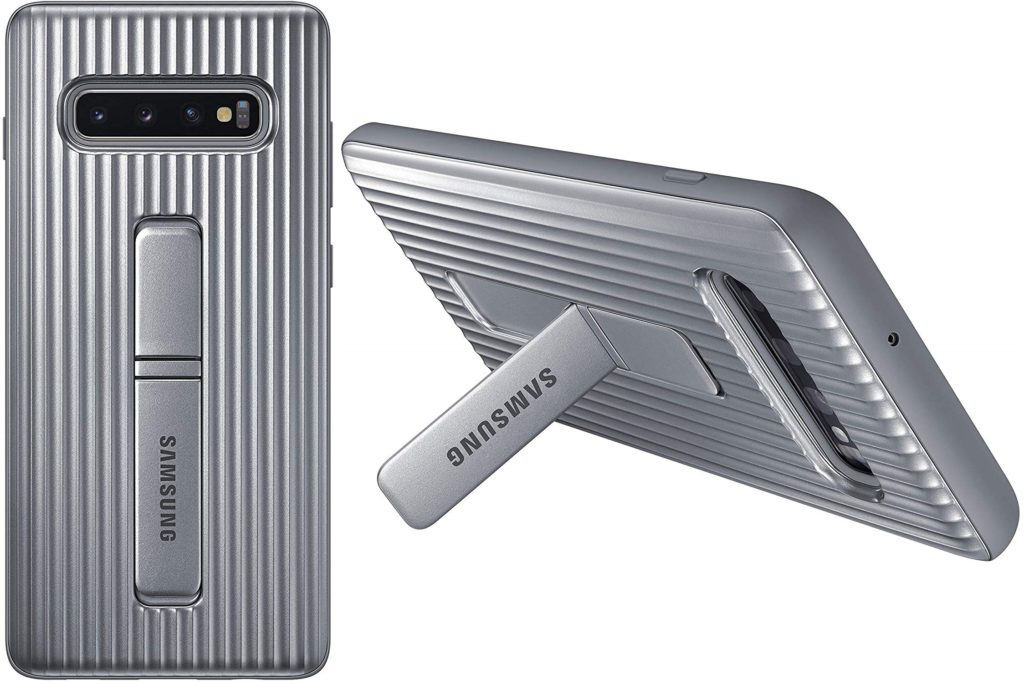 Best Samsung Galaxy S10+ Phone Cases - Rugged Protective Case with Kickstand