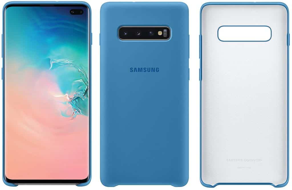 Best Samsung Galaxy S10+ Phone Cases - Silicone Case