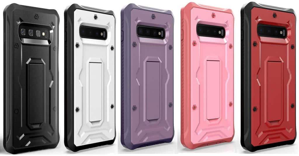 Best Samsung Galaxy S10+ Phone Cases - ArmadilloTek Vanguard Full-body Phone Case