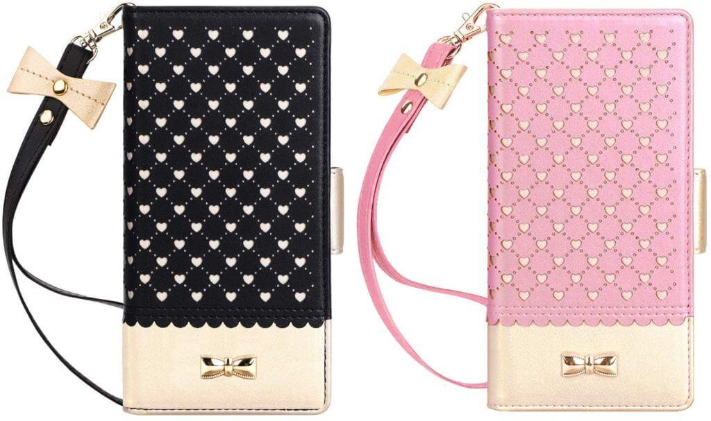 Best Samsung Galaxy S10+ Phone Cases - Jasilon Premium Leather Wallet Case