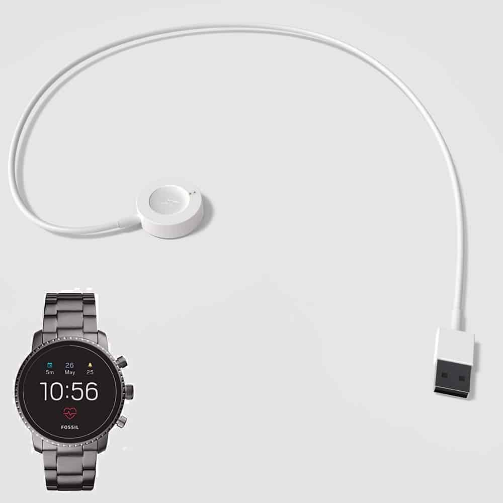 Fossil Android Watch and the Fossil Charger