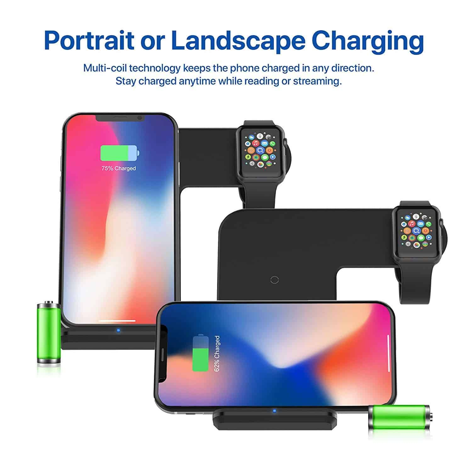 Portrait and Landscape Charging for your Mobile