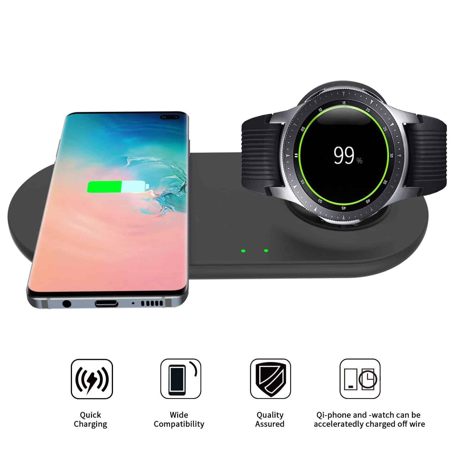 EloBeth Wireless Charger Duo
