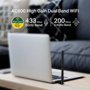 Best USB Wi-Fi Adapters: TP-Link AC600 USB Wi-Fi Adapter Sample