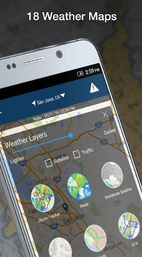 weather by weatherbug app