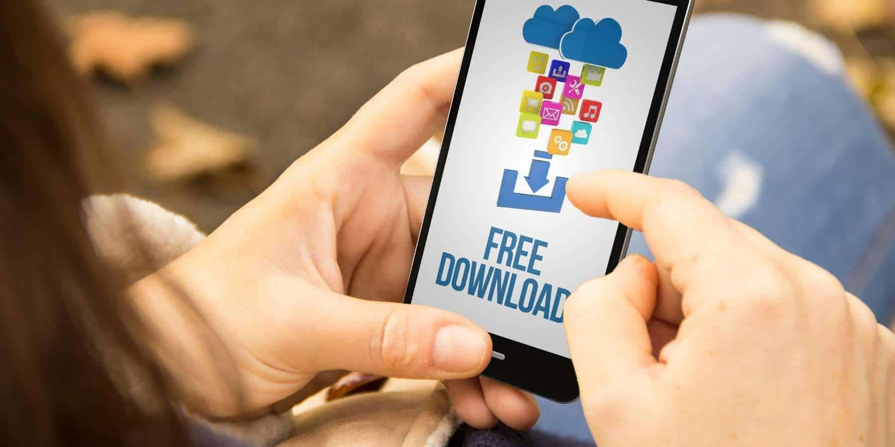Find and open downloads on Android