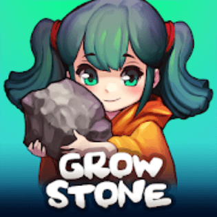 Best MMORPGs for Android - Grow Stone Online Logo