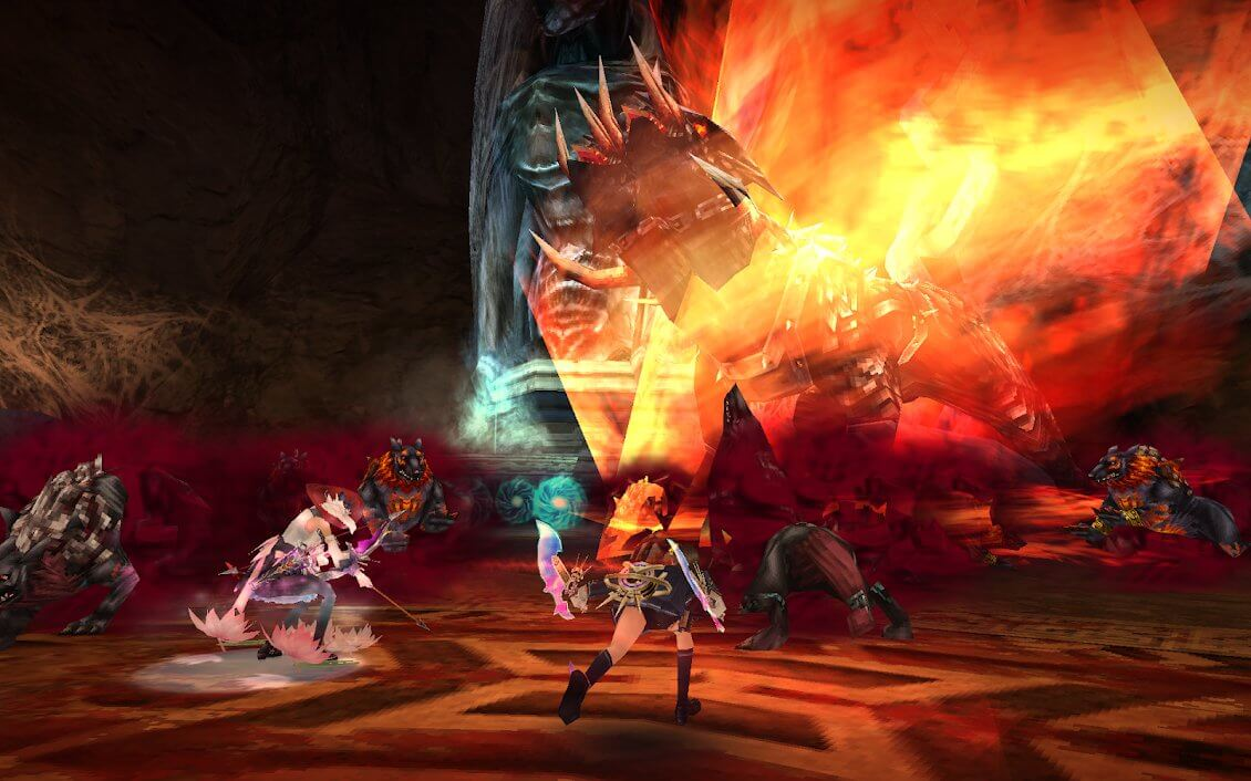 Best MMORPGs for Android - Aurcus Online Gameplay