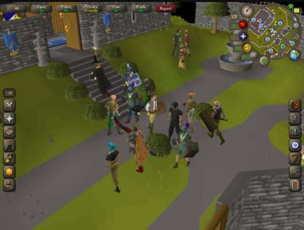 Best MMORPGs for Android - Old School RuneScape Gameplay