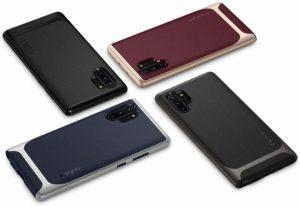 Best Samsung Galaxy Note 10 Plus Phone Case - Spigen Neo Hybrid Colors