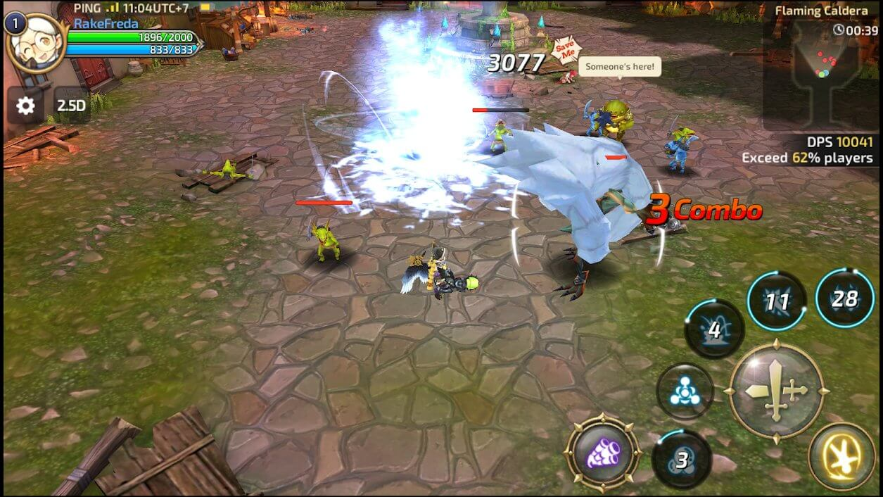 Best MMORPGs for Android - Dragon Nest M Gameplay