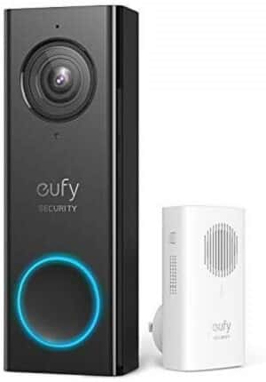Google Home Compatible Doorbell: Eufy Security Wi-Fi Video Doorbell