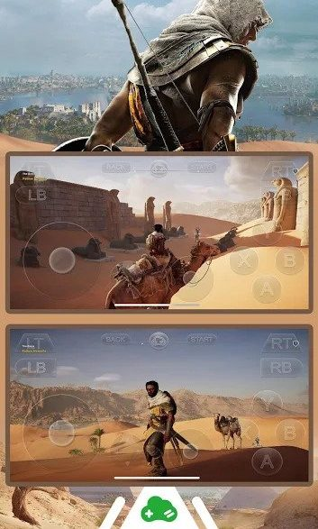 Play Assassins Creed Origins on Gloud by Cloud Gaming on Android