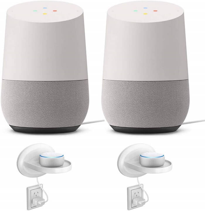 Google Home Compatible Doorbell: Google Home Smart Speaker 2 Pack