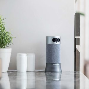 Best Google Compatible Home Security Systems for 2019: Honeywell Smart Home Security Starter Kit - Base Station