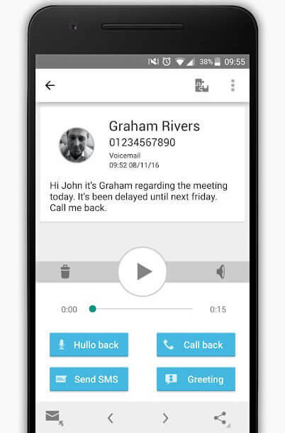 Best Voicemail Apps for Android - HulloMail Voicemail