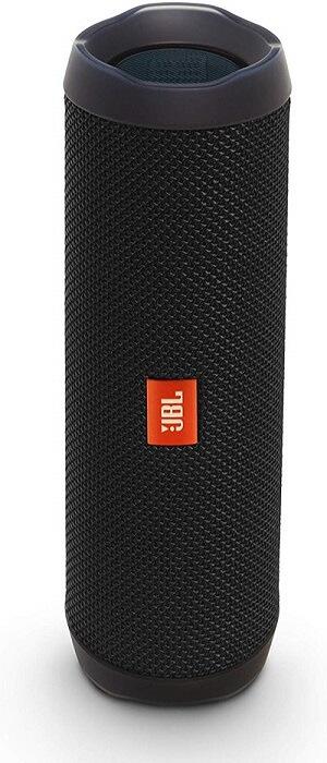 google home compatible speakers: JBL Flip 4