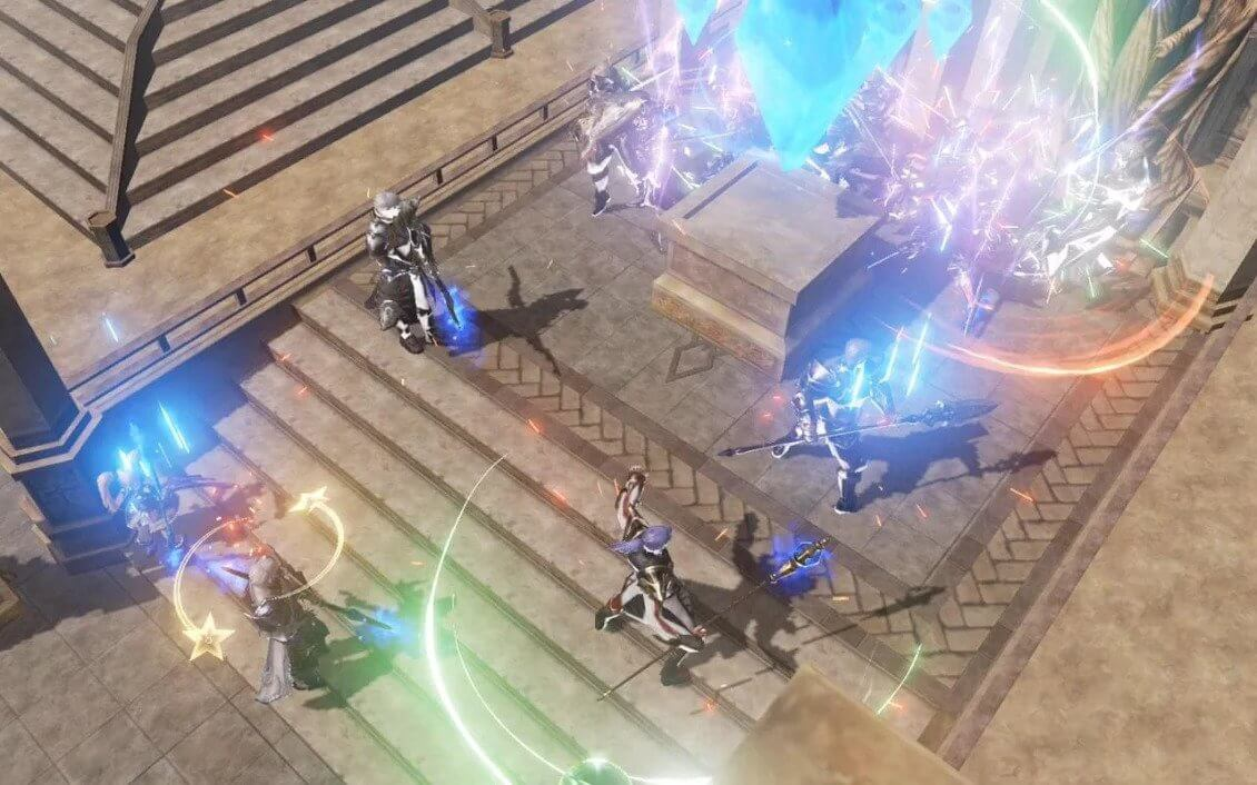 Best MMORPGs for Android - Lineage 2 Revolution Gameplay