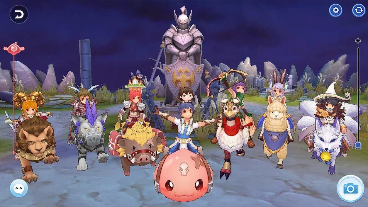 Best MMORPGs for Android - Ragnarok M: Eternal Love Gameplay