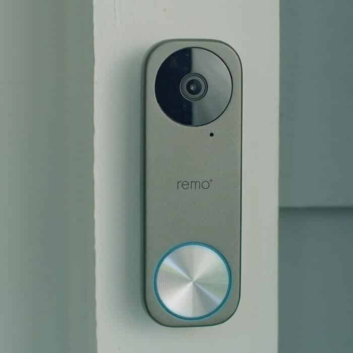 Google Home Compatible Doorbell: RemoBell S Wi-Fi Video Doorbell