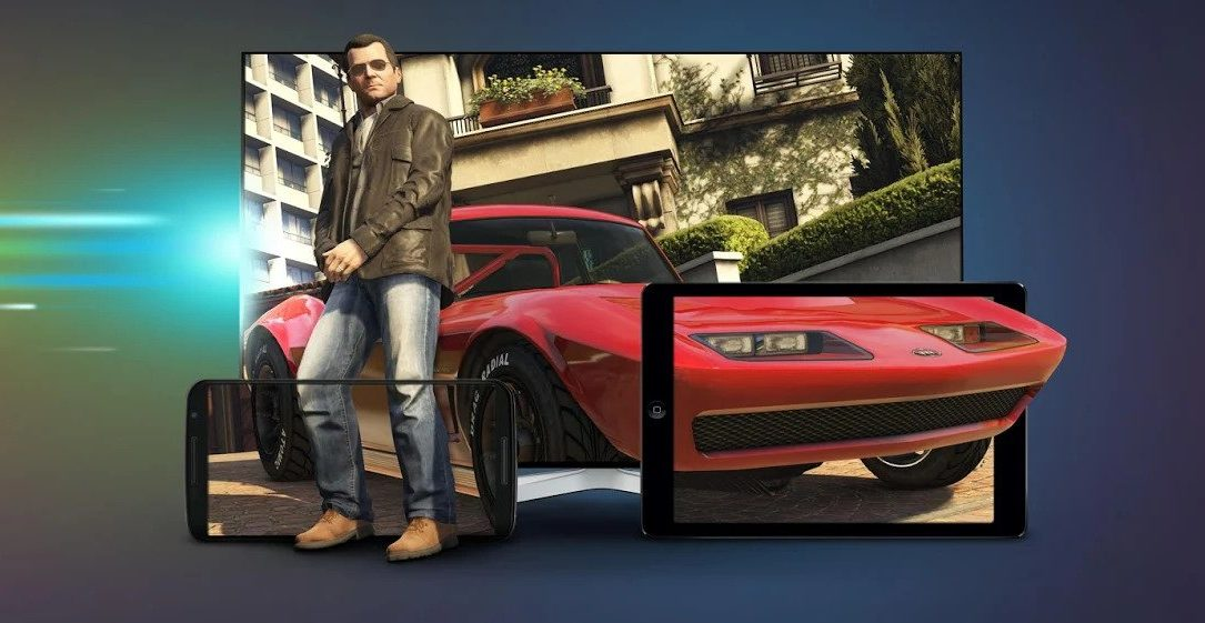 Play GTA5 by cloud gaming on Android using Remotr