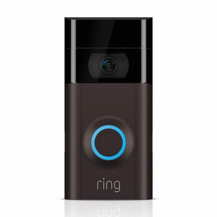 Google Home Compatible Doorbell: Ring Video Doorbell 2