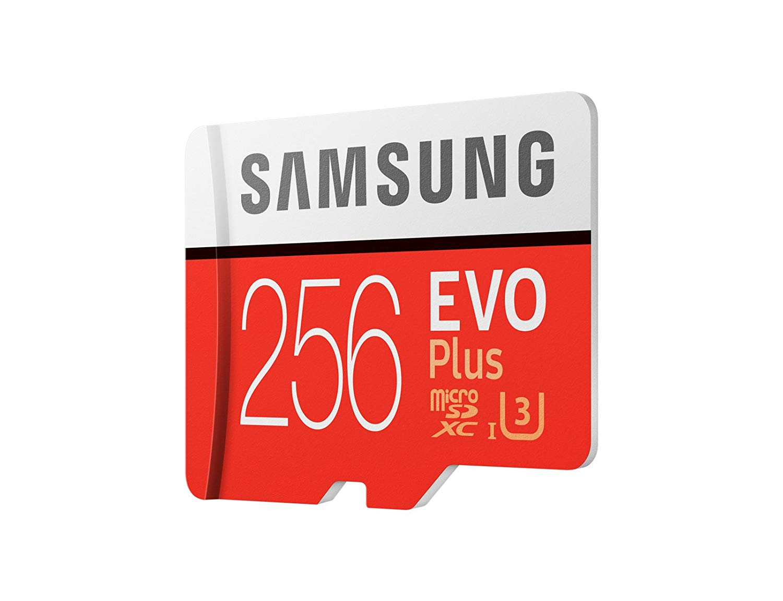 Best SD Cards for Samsung Galaxy S10 - Samsung EVO Plus Side