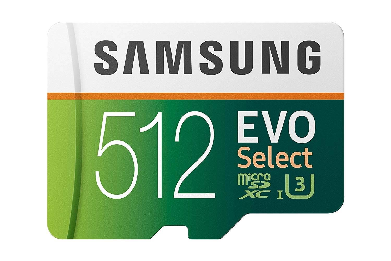 Best SD Cards for Samsung Galaxy S10 - Samsung MicroSDXC EVO Select