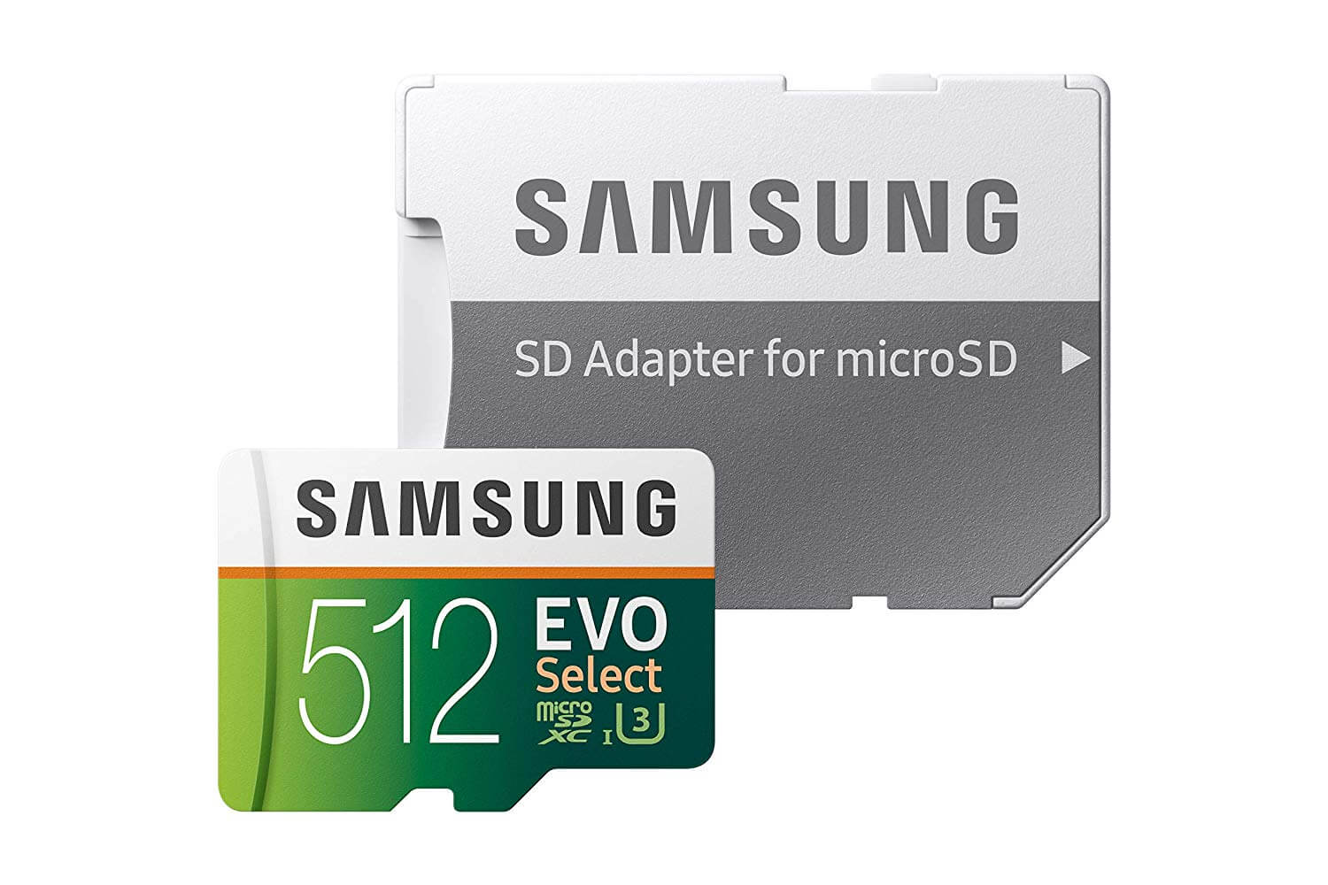 Best SD Cards for Samsung Galaxy S10 - Samsung MicroSDXC EVO Select with Adapter