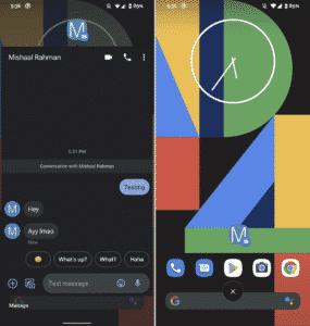 XDA Developers shares a way on how to enable the bubble notification manually