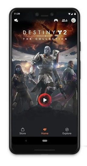 Play Destiny 2 on Android with Google Stadia Cloud Gaming for Android